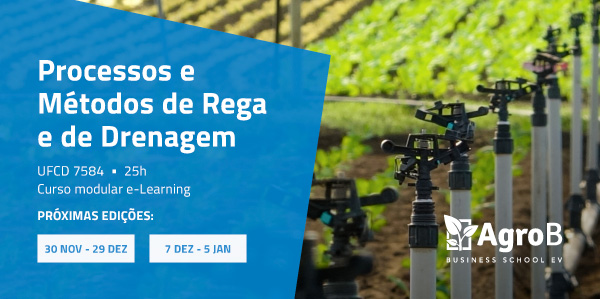 Processos e Métodos de Rega e de Drenagem - Formação Jovem Agricultor