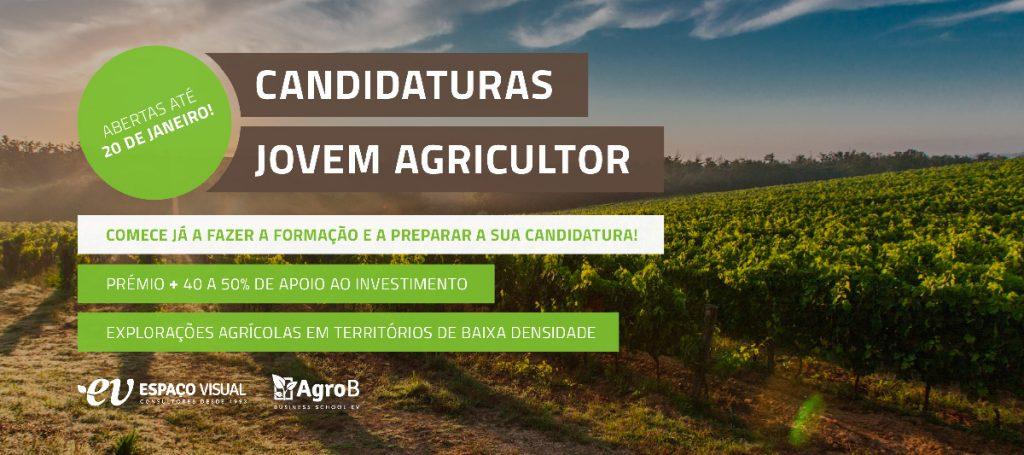 Candidaturas Jovem Agricultor até 20 de janeiro